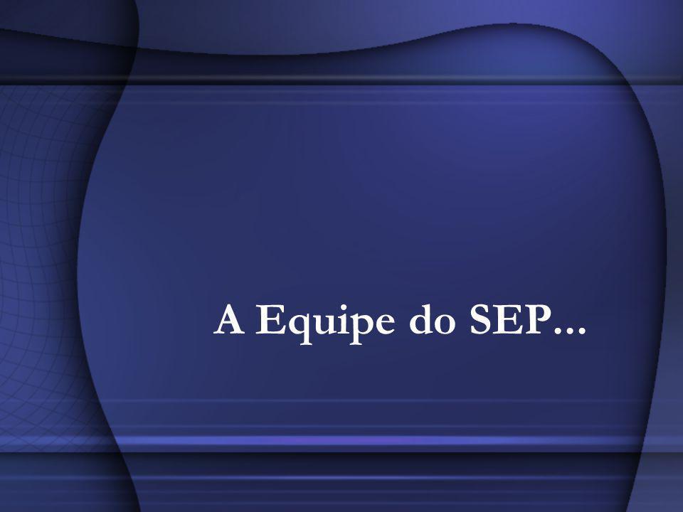 A Equipe do SEP...