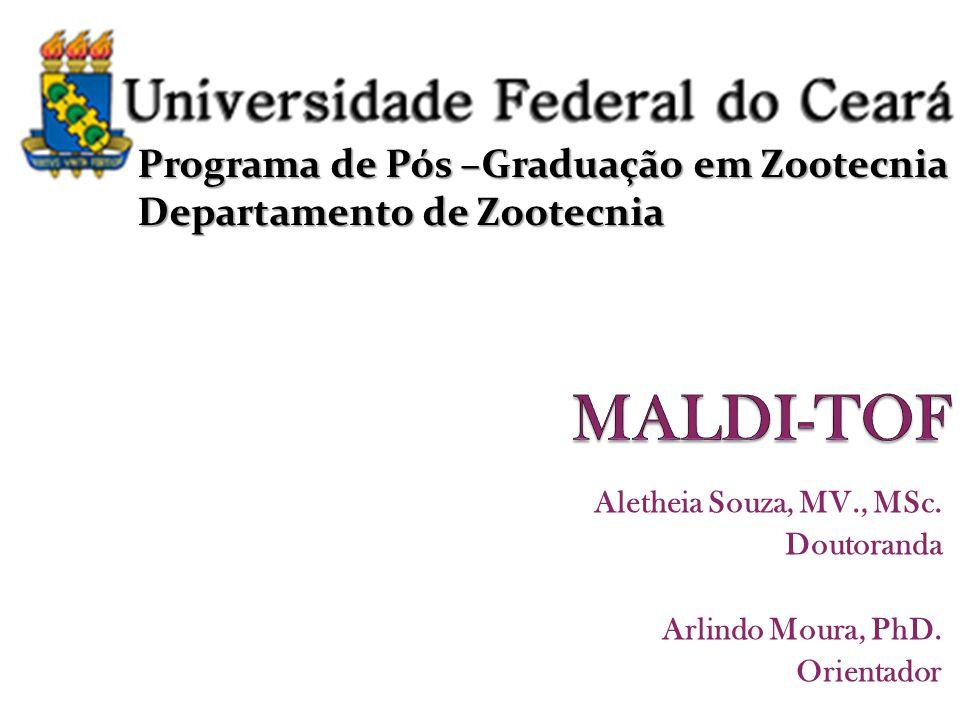 Eletroforese-2D de proteínas do plasma seminal de ovinos Santa Inês identificadas por Maldi Tof – Parte da dissertação de João Paulo A.