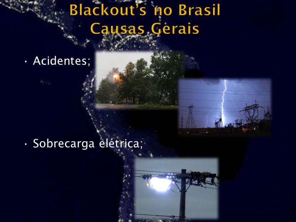 Acidentes; Sobrecarga elétrica;