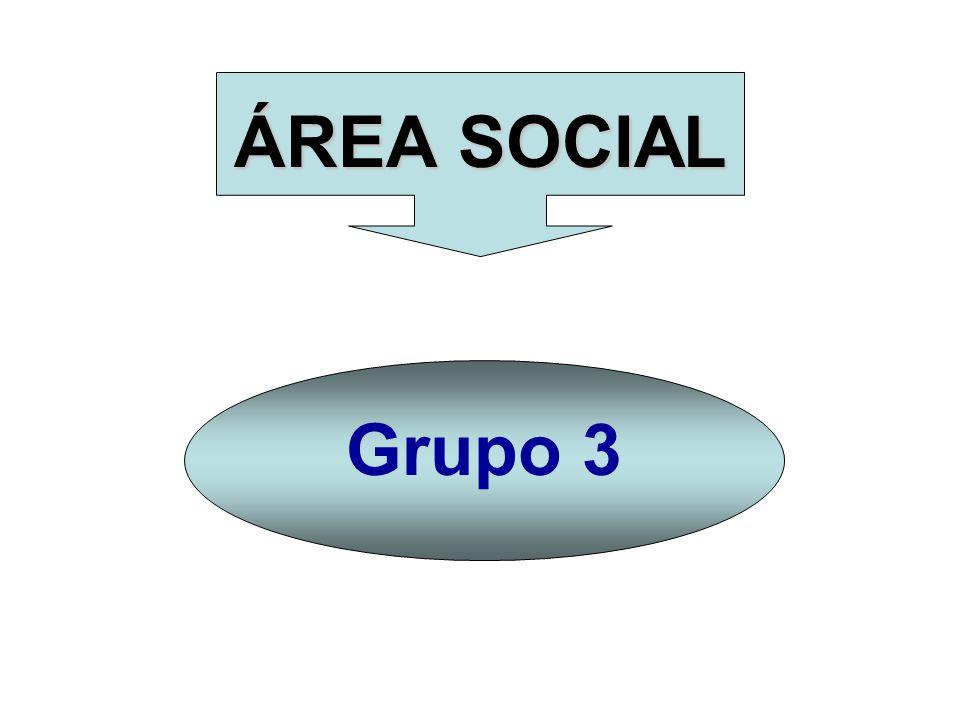 ÁREA SOCIAL Grupo 3
