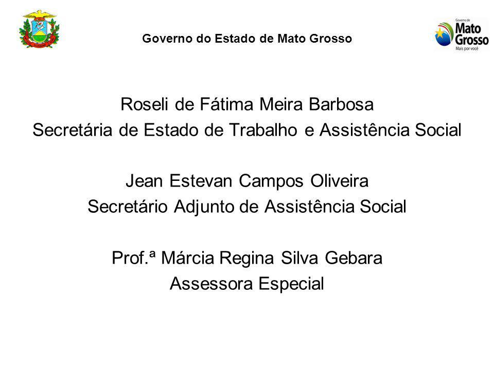 Acolhimento Institucional (Abrigo) Em Cuiabá há uma Unidade de Acolhimento Institucional (abrigo) denominado Lar da Criança com investimentos bi-parti
