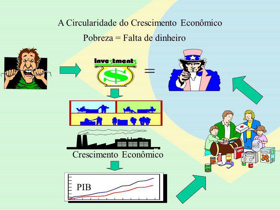 Crescimento Econômico (Capital Tradicional - renda) Capital Social Capital Humano A formação desses laços de realimentação de reforço constitui o fenômeno do Desenvolvimento
