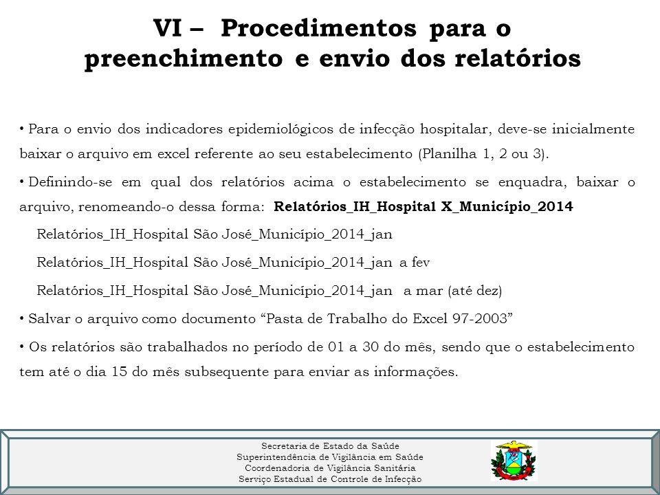 Formulário para notificação de ISC - Formsus Dados Institucionais: estado, CNES e nome do estabelecimento (fantasia) Dados da Notificação: ano, mês de referência, recomendação técnica do laboratório, unidades monitoradas Centro Cirúrgico/Centro Obstétrico - - INFECÇÃO DE SÍTIO CIRÚRGICO (ISC): PARTO CIRÚRGICO – CESAREANA - INFECÇÃO DE SÍTIO CIRÚRGICO (ISC): IMPLANTE DE PRÓTESE CARDÍACA - INFECÇÃO DE SÍTIO CIRÚRGICO (ISC): IMPLANTE DE PRÓTESE ORTOPÉDICA - INFECÇÃO DE SÍTIO CIRÚRGICO (ISC): IMPLANTE DE PRÓTESE NEUROCIRÚRGICA - INFECÇÃO DE SÍTIO CIRÚRGICO (ISC): IMPLANTE DE PRÓTESE MAMÁRIA (número absoluto de infecções evidenciadas pelo SCIH) Dados do Notificador: nome e email GRAVAR