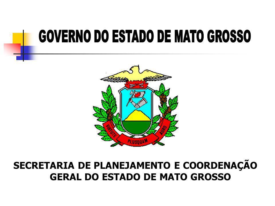 SECRETARIA DE PLANEJAMENTO E COORDENAÇÃO GERAL DO ESTADO DE MATO GROSSO