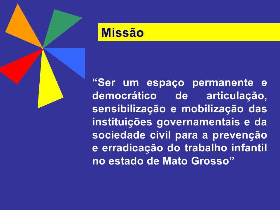 Ser um espaço permanente e democrático de articulação, sensibilização e mobilização das instituições governamentais e da sociedade civil para a preven