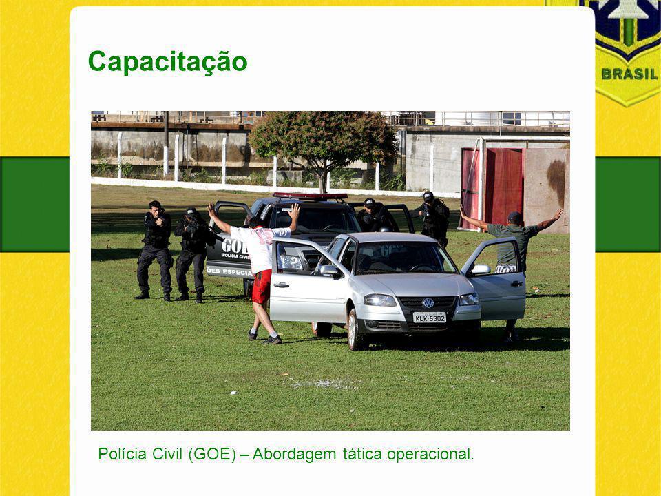 Capacitação Polícia Civil (GOE) – Abordagem tática operacional.