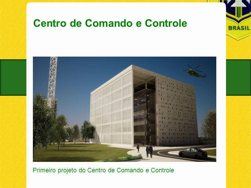 Centro de Comando e Controle Primeiro projeto do Centro de Comando e Controle