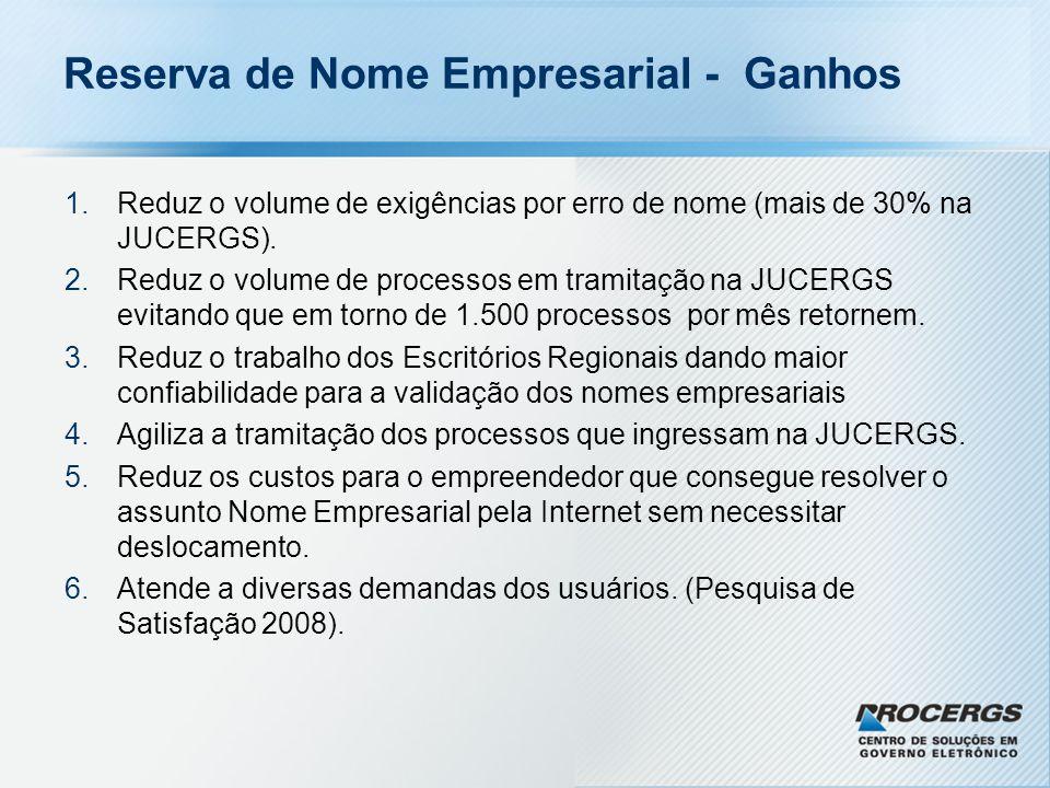 Reserva de Nome Empresarial - Solução -Replicação da base de dados do sistema SIARCO.