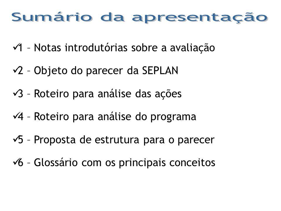 Pertinência – consiste na compatibilidade entre os diversos atributos de um programa (objetivo x programa, ações x programa, indicador x objetivo do programa, público-alvo x objetivo do programa).