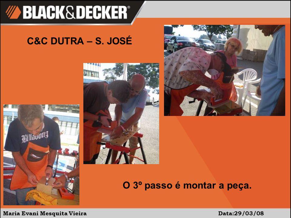 Maria Evani Mesquita Vieira Data:29/03/08 C&C DUTRA – S.