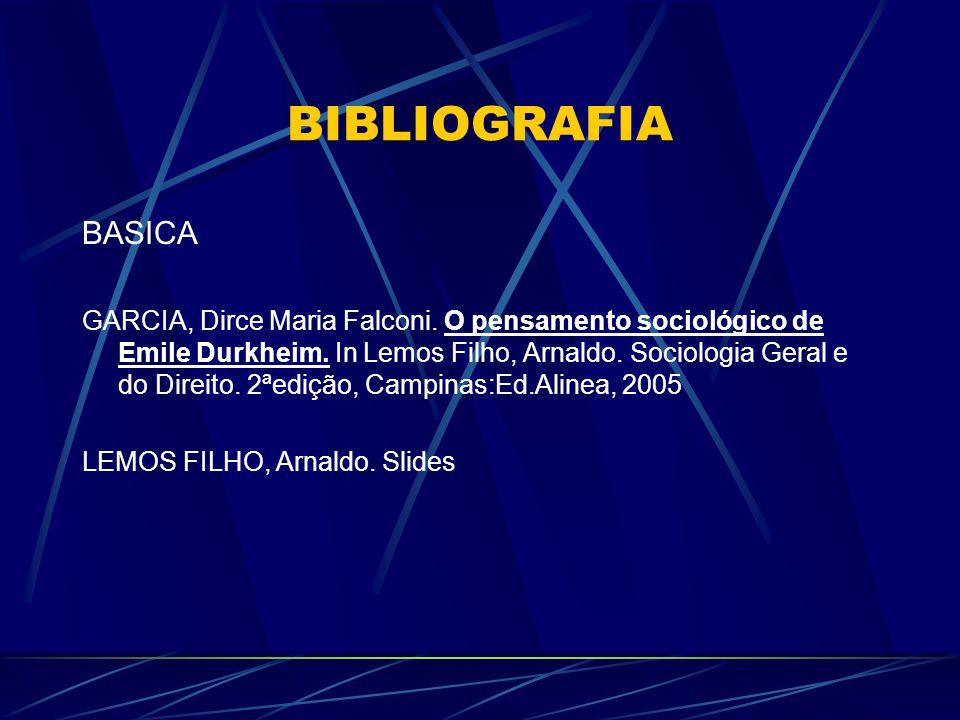 BIBLIOGRAFIA COMPLEMENTAR 1.COSTA, Cristina.