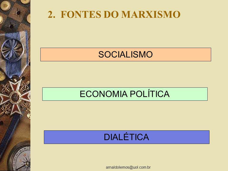 arnaldolemos@uol.com.br ANÁLISE DA MERCADORIA Segundo Modo 5.
