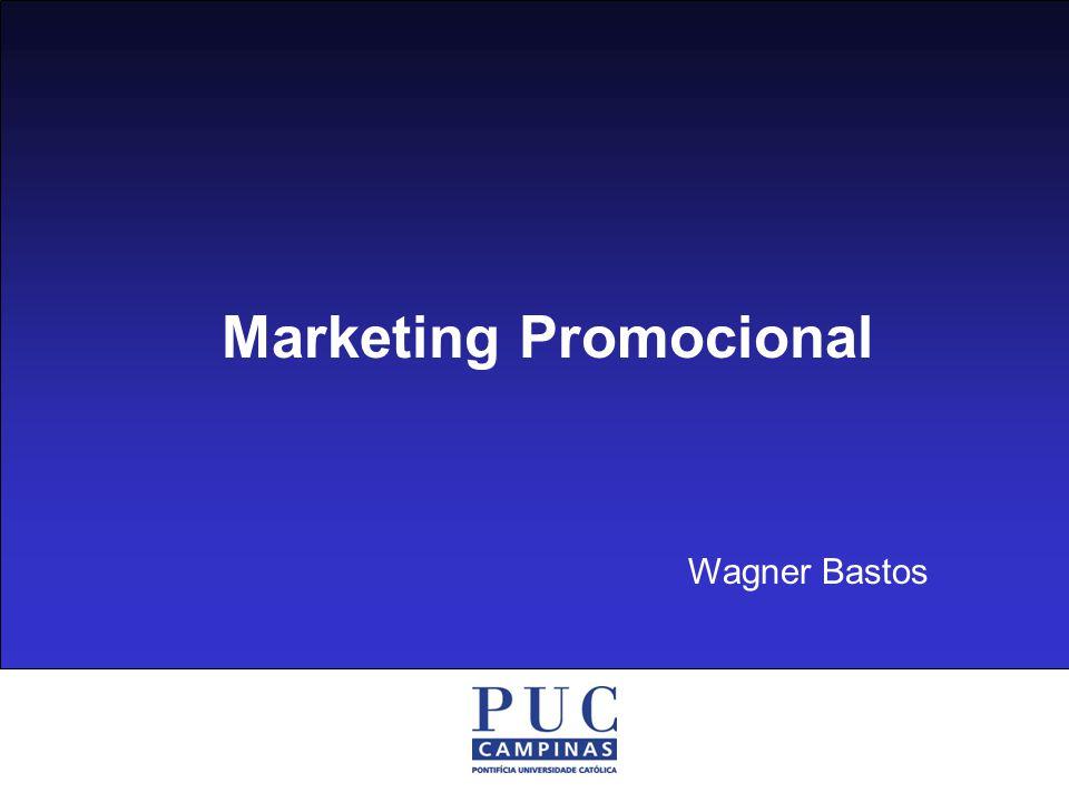 Promoção de Vendas I Ementa A Promoção de Vendas como parte do composto de comunicação e como ferramenta do marketing.