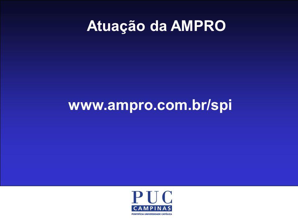 Atuação da AMPRO www.ampro.com.br/spi