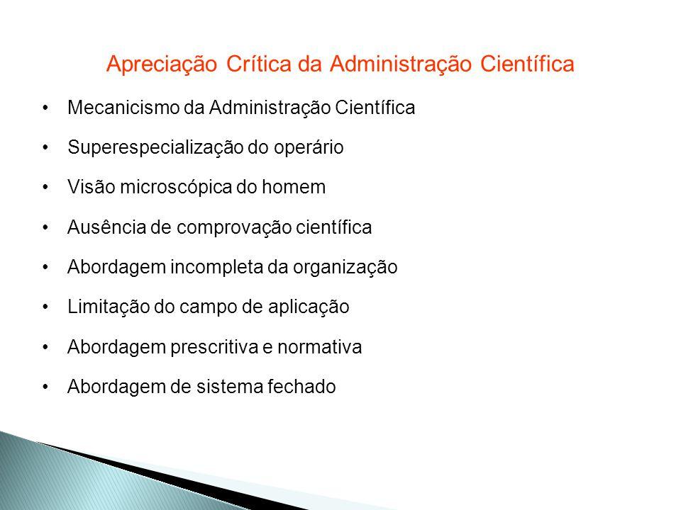 Distinção da atividade administrativa das atividades operacionais Conceito de Administrar: prever, organizar, comandar, coordenar e controlar.