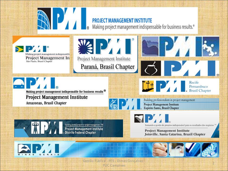 Gerência de Projetos Características dos projetos; Competência e profissionalização da gestão de projetos; Áreas do conhecimento do PMI; Ciclo de vida em projetos; Ambiente e organização dos projetos; Processos dos projetos; Fases dos processos; Planejamento do projeto e suas ferramentas; Execução e controle de projetos.