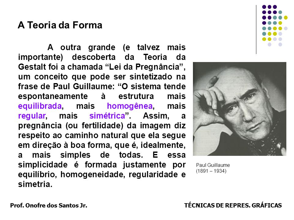 Prof. Onofre dos Santos Jr.TÉCNICAS DE REPRES. GRÁFICASProf. Onofre dos Santos Jr.TÉCNICAS DE REPRES. GRÁFICAS A outra grande (e talvez mais important