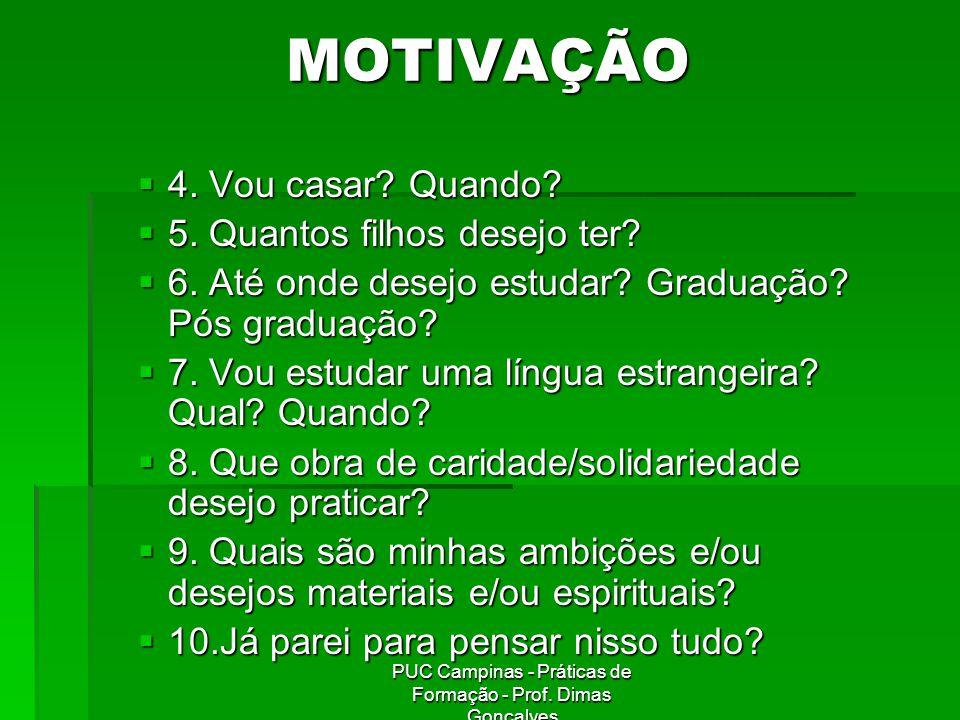 PUC Campinas - Práticas de Formação - Prof.