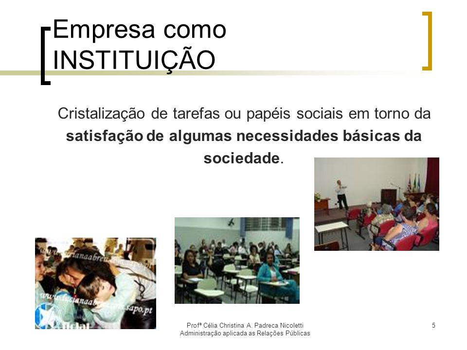 Profª Célia Christina A.