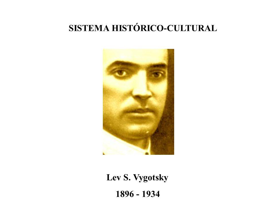 SISTEMA HISTÓRICO-CULTURAL Lev S. Vygotsky 1896 - 1934