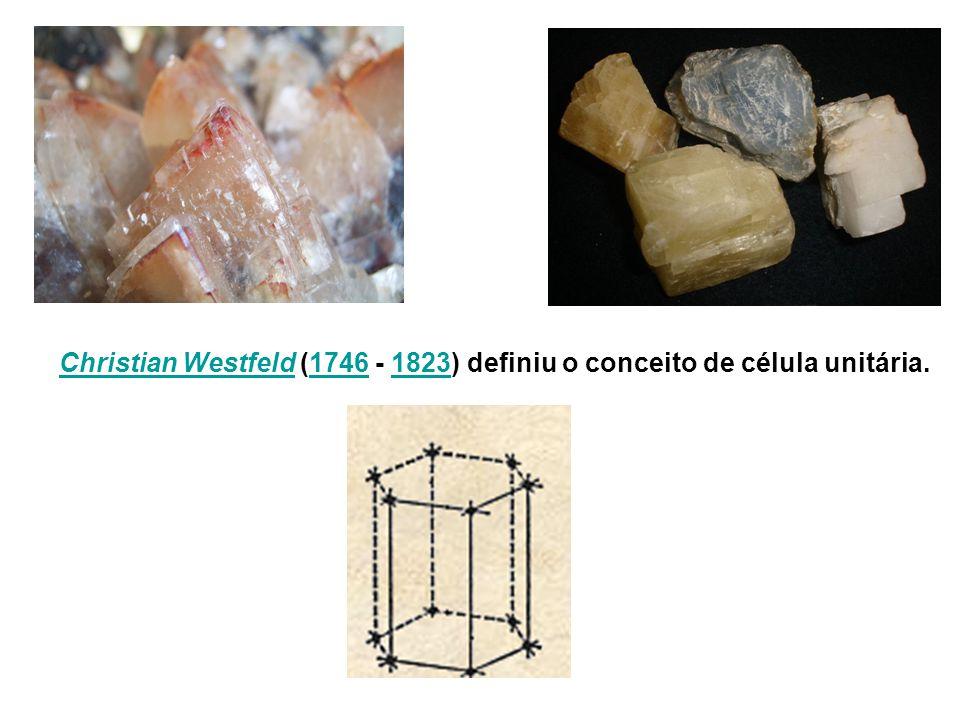 Christian WestfeldChristian Westfeld (1746 - 1823) definiu o conceito de célula unitária.17461823