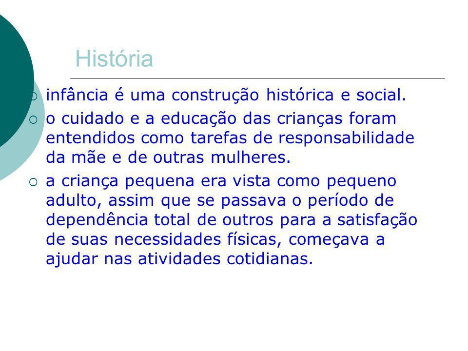 História infância é uma construção histórica e social.
