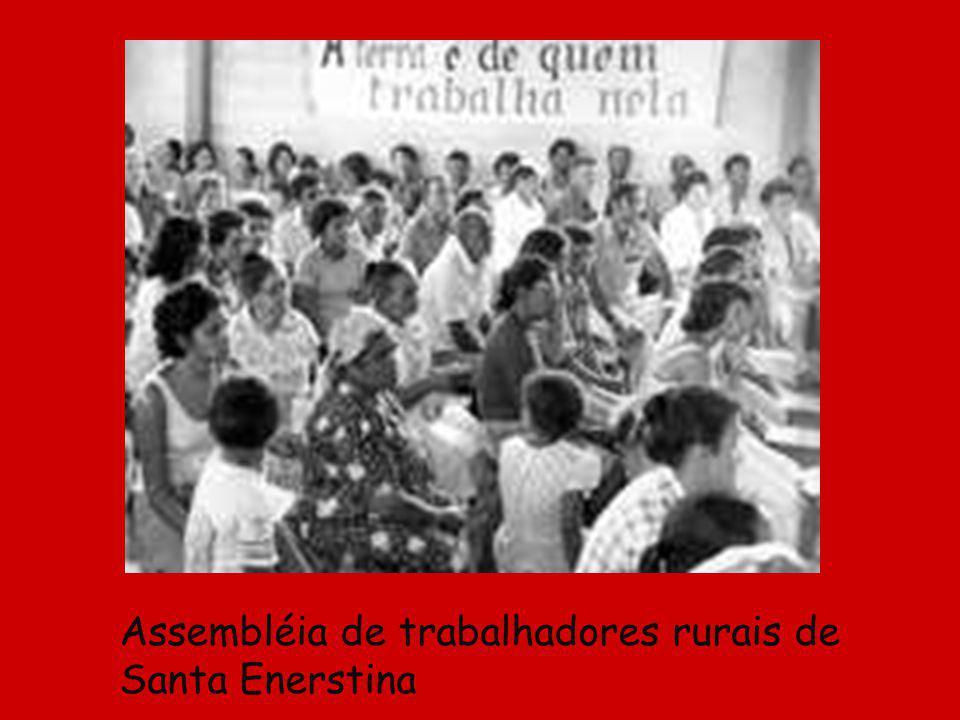 Assembléia de trabalhadores rurais de Santa Enerstina
