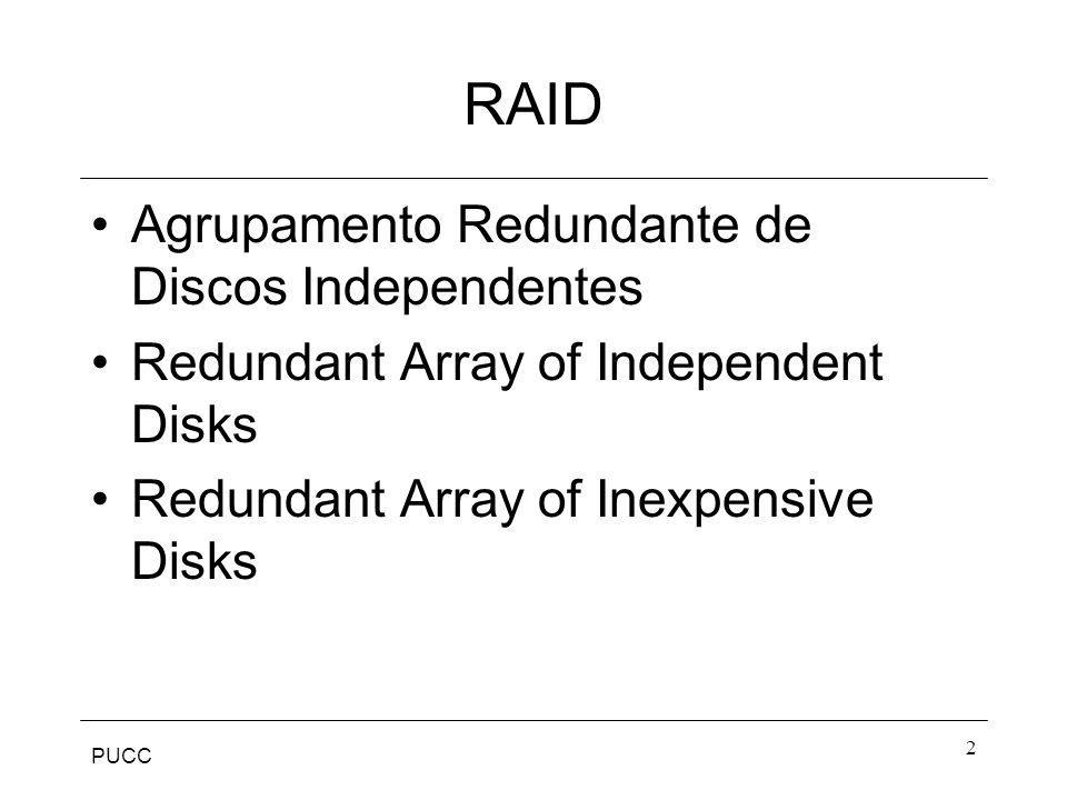PUCC 3 RAID Um dispositivo pode ser melhorado até certo ponto.