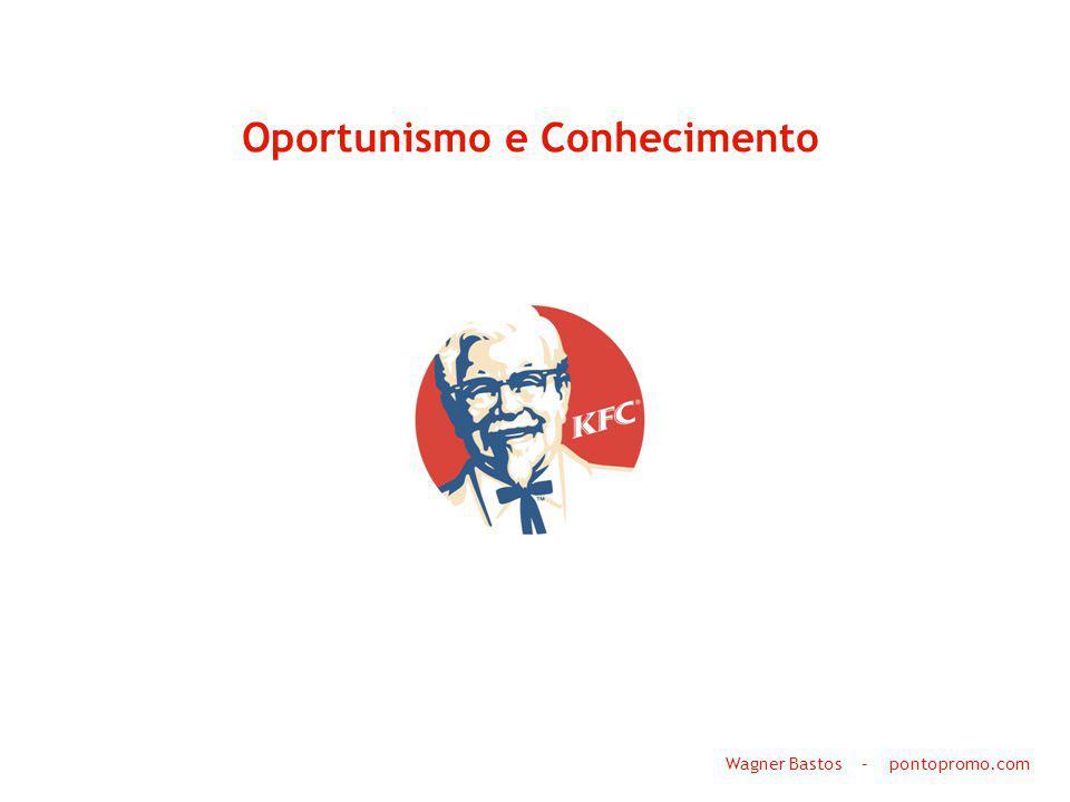 Oportunismo e Conhecimento Wagner Bastos – pontopromo.com