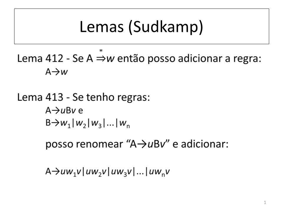 Lemas (Sudkamp) 1