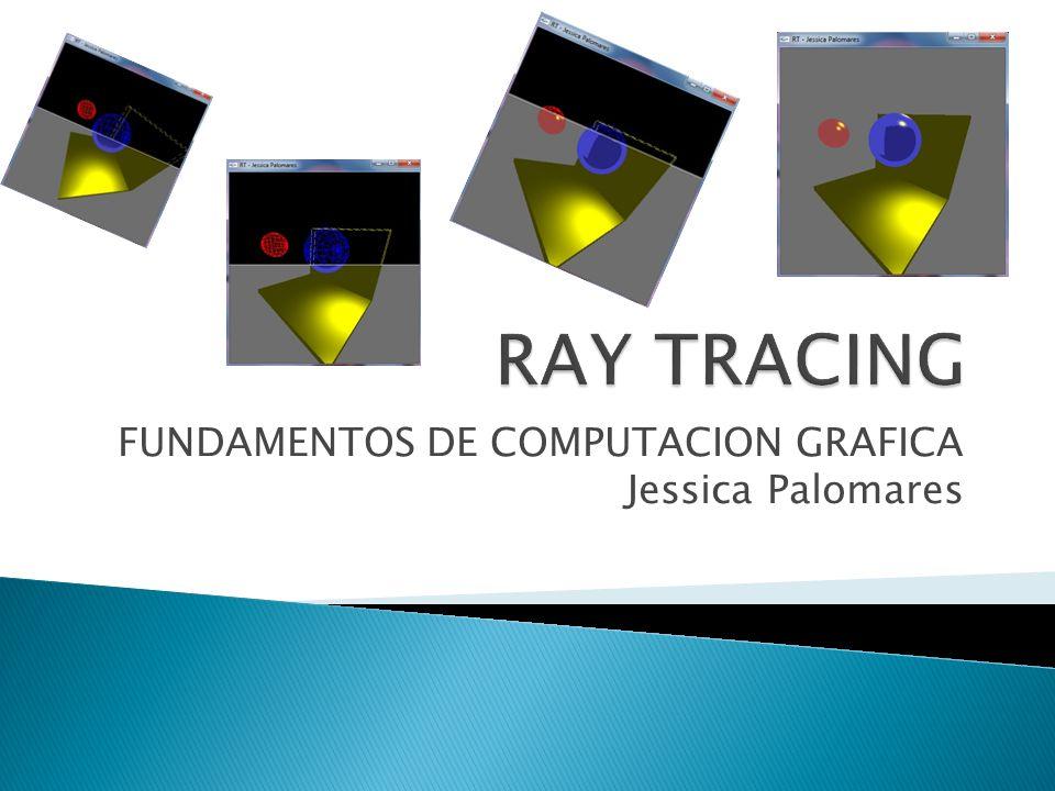 FUNDAMENTOS DE COMPUTACION GRAFICA Jessica Palomares