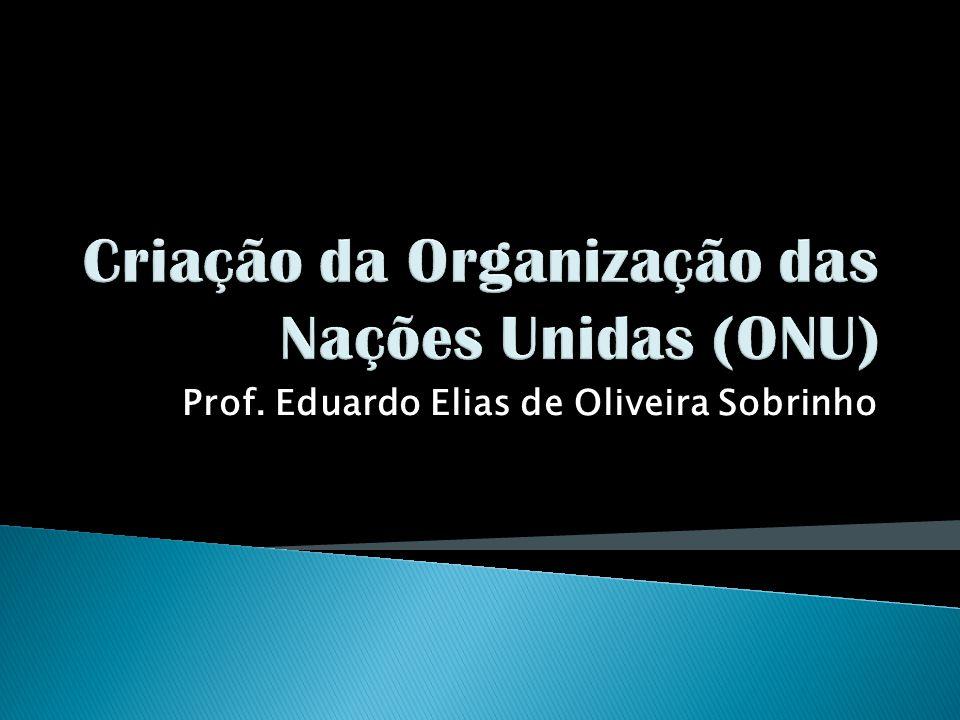 Prof. Eduardo Elias de Oliveira Sobrinho