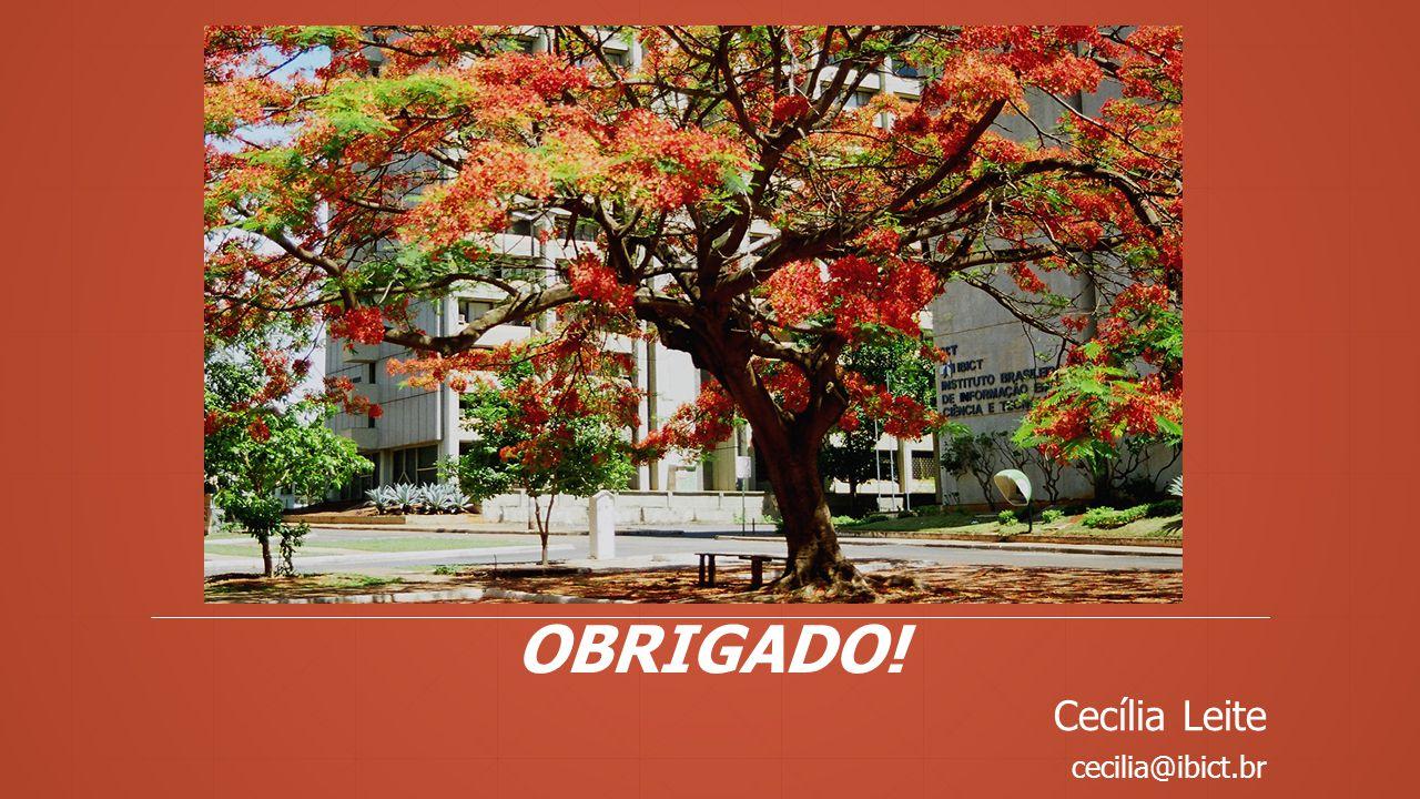 cecilia@ibict.br OBRIGADO!