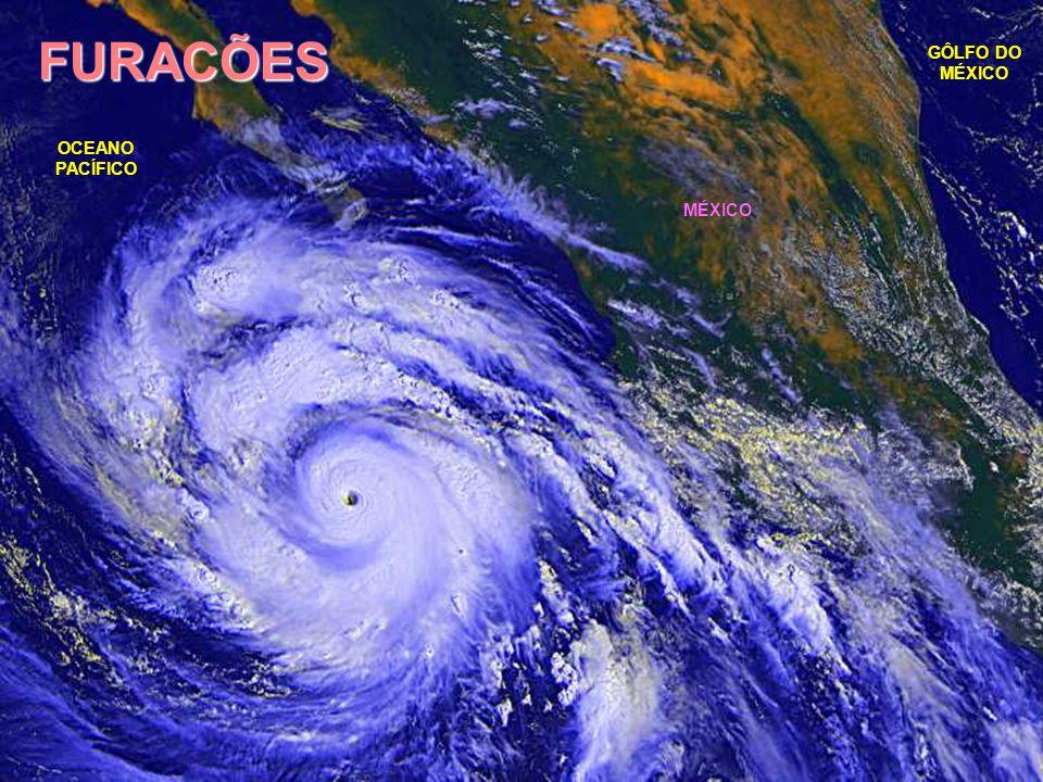 FURACÕES Ou TUFÕES, CICLONES TROPICAIS, são tempestades de nuvens giratórias formadas geralmente no verão sobre as águas aquecidas dos oceanos tropicais.