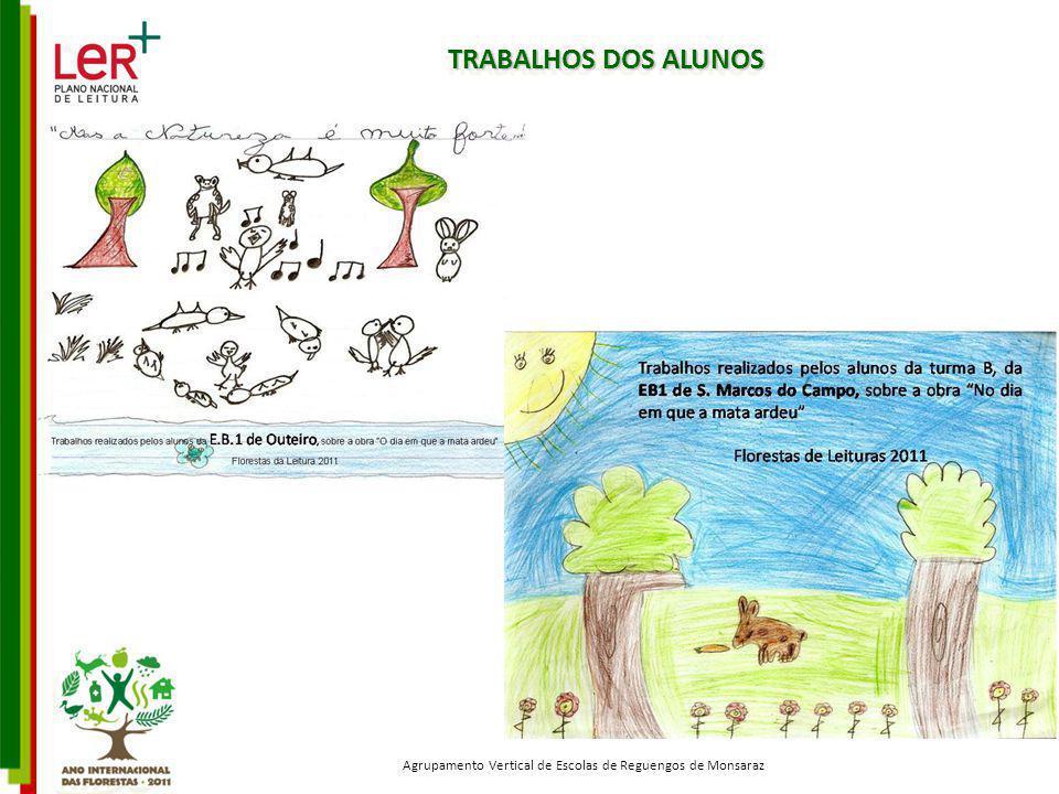 TRABALHOS DOS ALUNOS Agrupamento Vertical de Escolas de Reguengos de Monsaraz