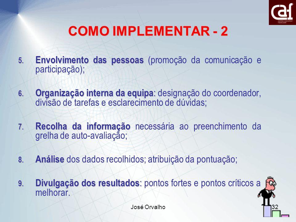 José Orvalho32 5.Envolvimento das pessoas 5.