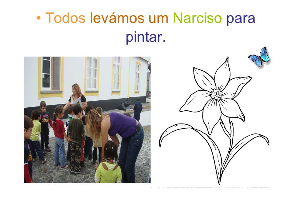 Todos levámos um Narciso para pintar.