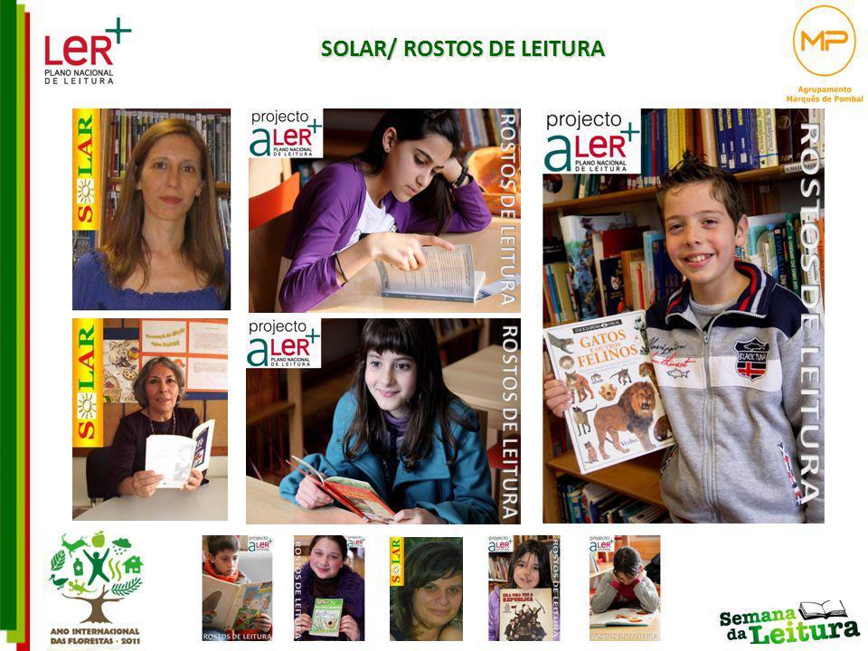 SOLAR/ ROSTOS DE LEITURA