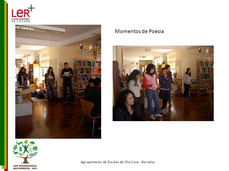 Agrupamento de Escolas de Vila Cova - Barcelos Momentos de Poesia