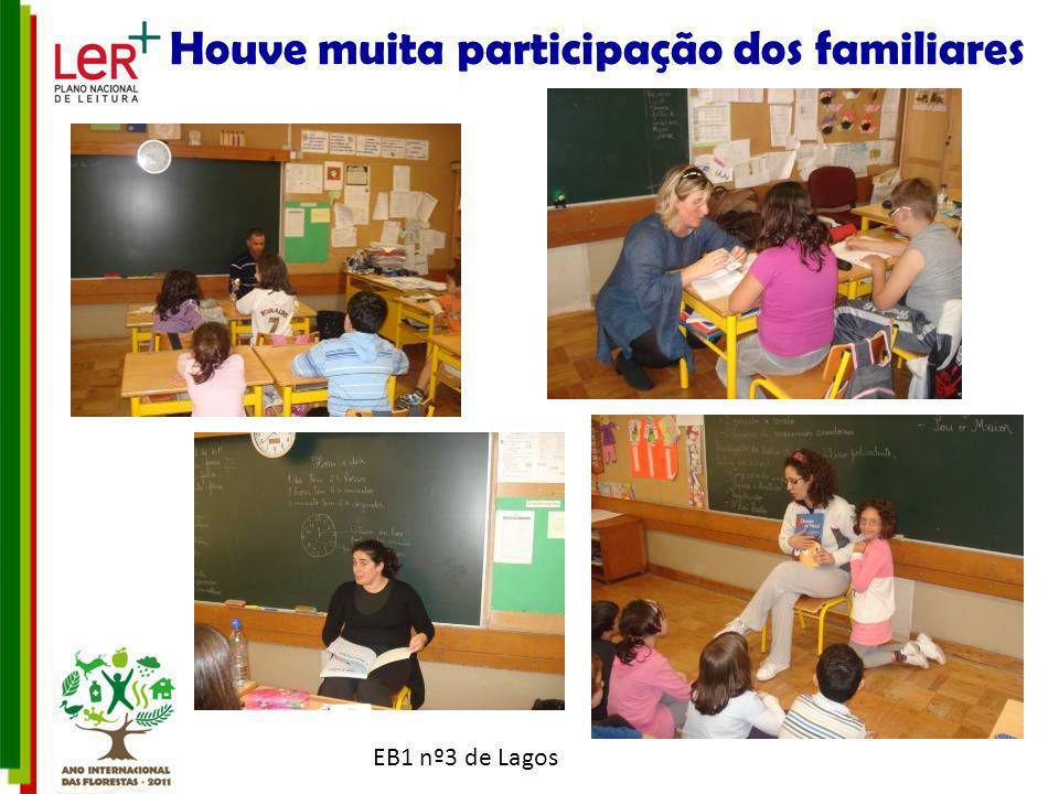EB1 nº3 de Lagos Houve muita participação dos familiares