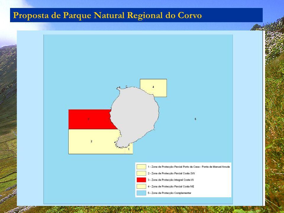 Proposta de Parque Natural Regional do Corvo