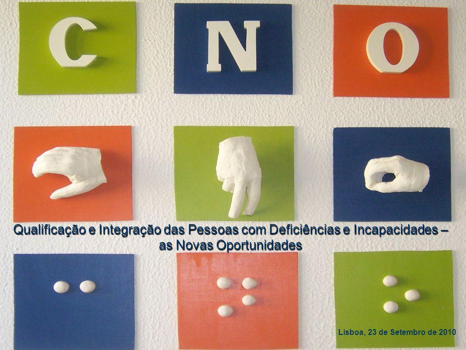 … etiqueta da deficiência … M. Helena Regêncio Alves maria.regencio@casapia.pt Direcção Regional de Qualificação Profissional Qualificação e Integraçã
