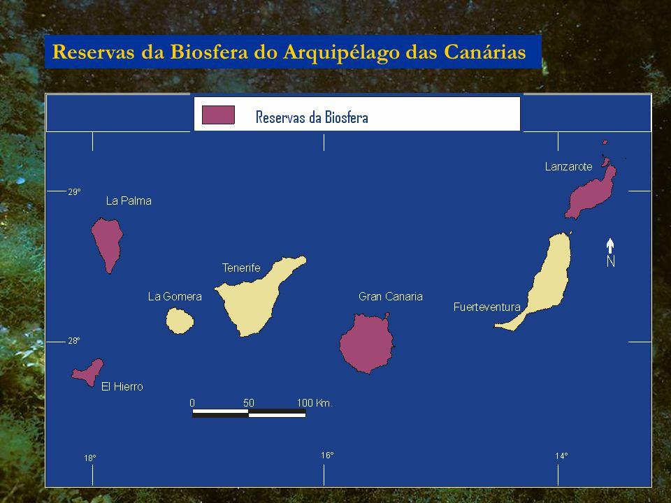Reservas da Biosfera do Arquipélago das Canárias