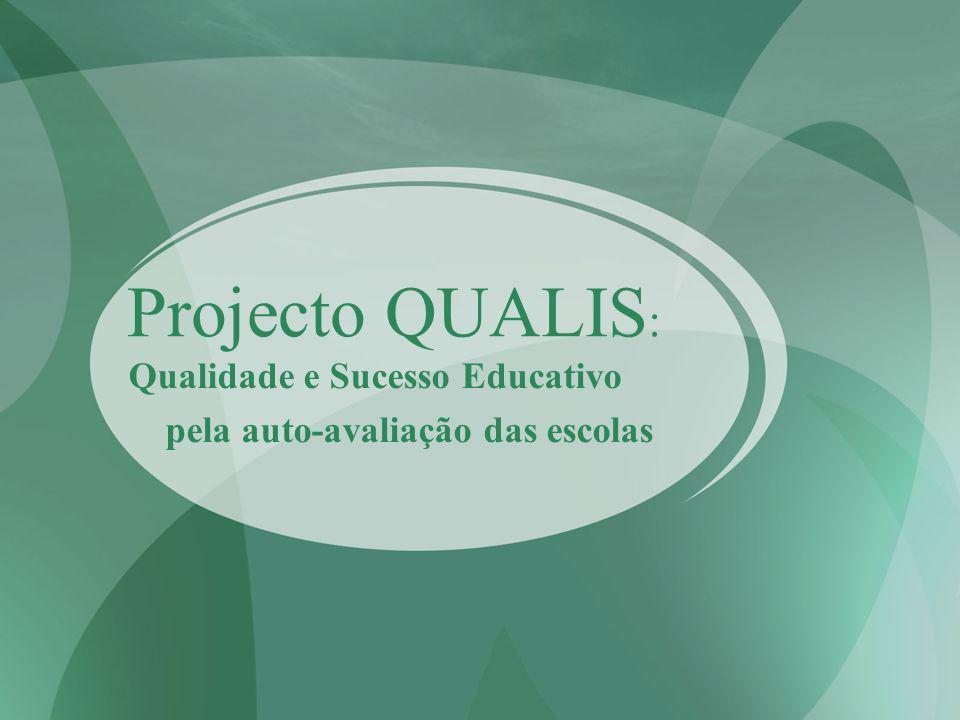 Projecto QUALIS : Qualidade e Sucesso Educativo pela auto-avaliação das escolas