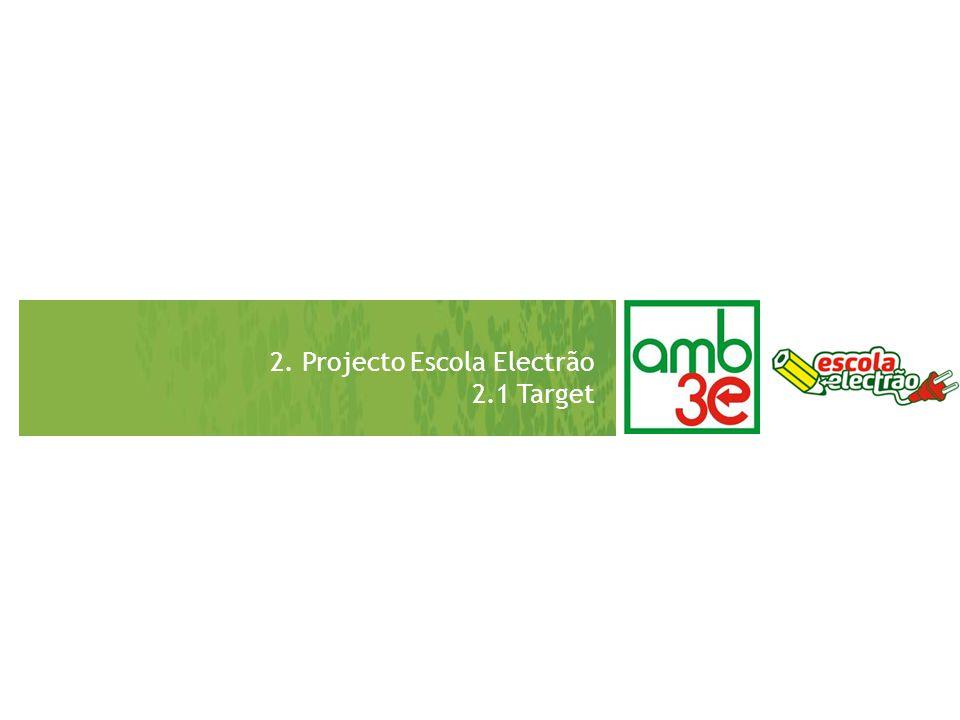 2. Projecto Escola Electrão 2.1 Target