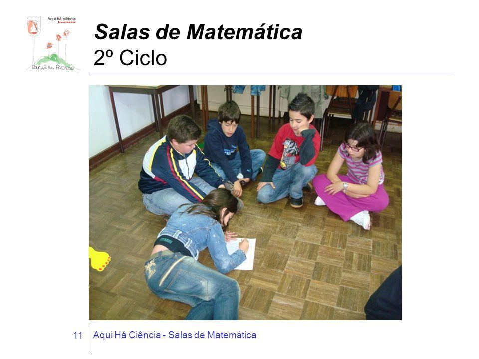 Salas de Matemática Aqui Há Ciência - Salas de Matemática 11 Salas de Matemática 2º Ciclo