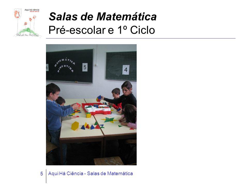 Salas de Matemática Aqui Há Ciência - Salas de Matemática 26 Ficha técnica