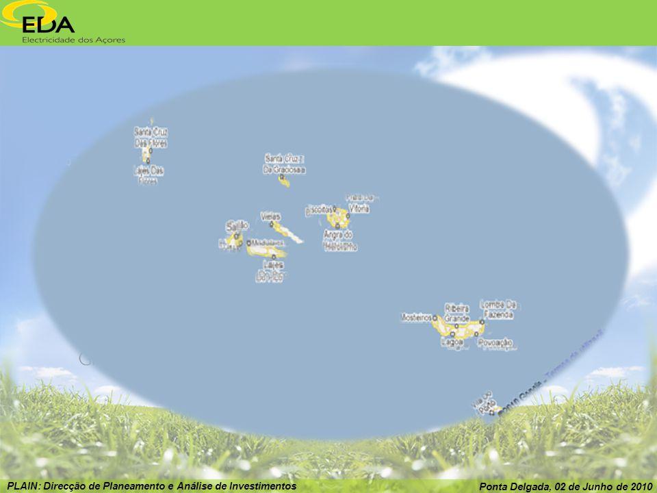 PLAIN: Direcção de Planeamento e Análise de Investimentos Ponta Delgada, 02 de Junho de 2010