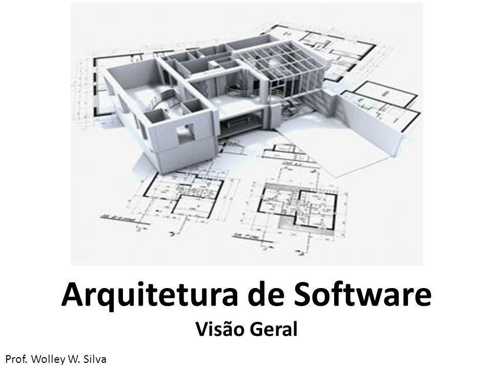 Arquitetura de Software Visão Geral Prof. Wolley W. Silva