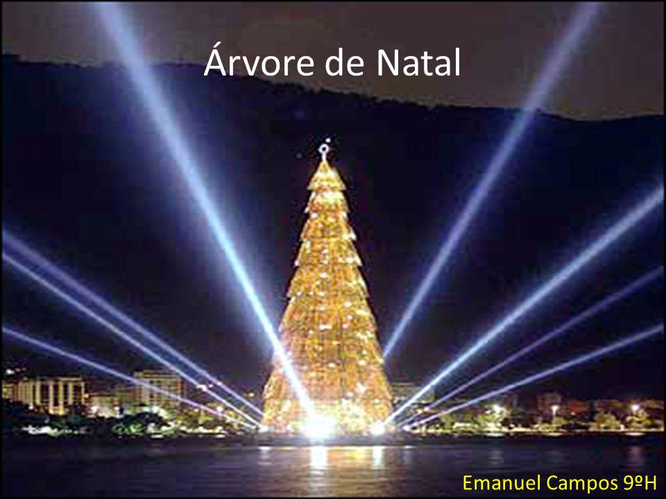 Árvore de Natal Emanuel Campos 9ºH